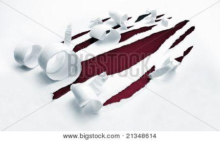 Torn Paper Holes