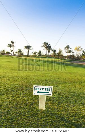 End of Green Fairway