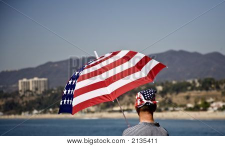 Patriotic Beachwear