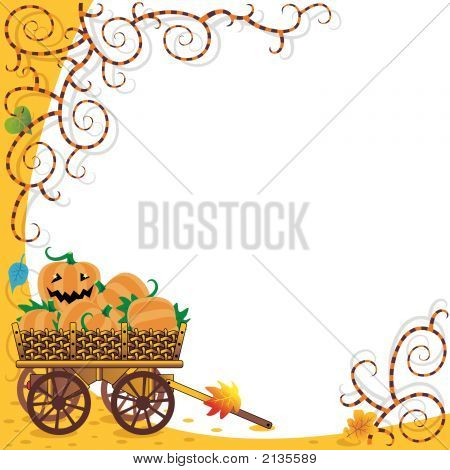 Halloween Or Autumn Background