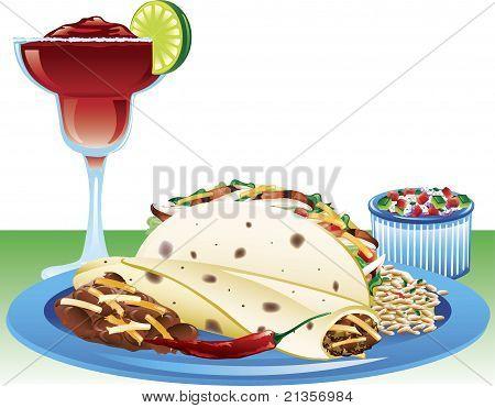 Soft Taco Meal