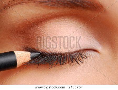 Black Cosmetic Pencil