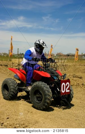 Riding Atv (All Terrain Vehicle)