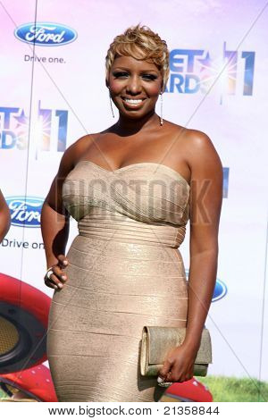 LOS ANGELES - JUN 26:  NeNe Leakes arriving at the 11th Annual BET Awards at Shrine Auditorium on June 26, 2011 in Los Angeles, CA