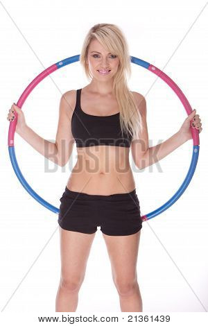 Fitness Blonde Woman