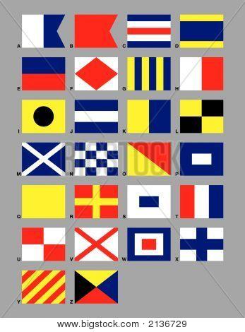 Maritime Signal Flags.Eps