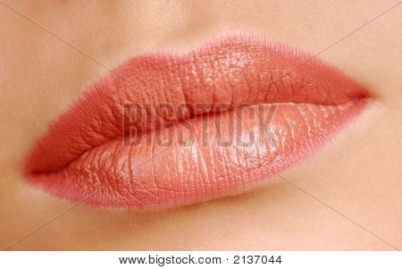 Women Beauty Lips Close-Up