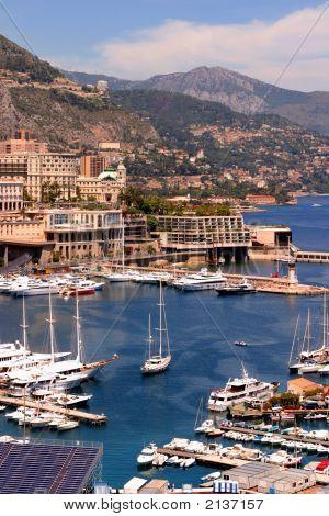 Monaco Harbour Scenic