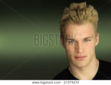 Young Male Model Face