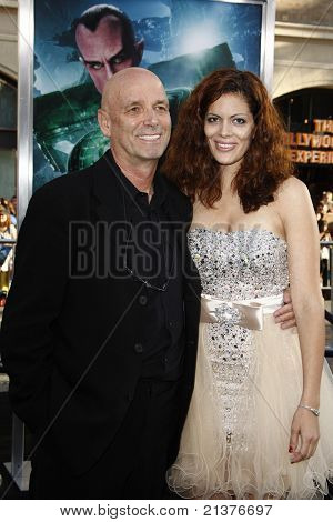 LOS ANGELES - JUN 15: Martin Campbell, Sol Romero at the premiere of Warner Bros. Pictures' 'Green Lantern' held at Grauman's Chinese Theatre in Los Angeles,CA on June 15, 2011.