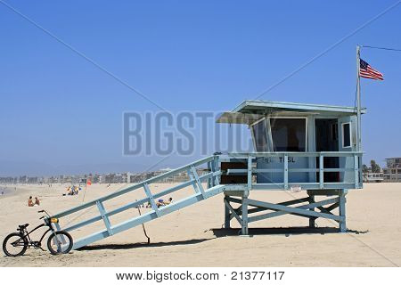 Lifegurad Shack on Beach