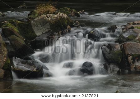 Waterfall In The Lake District