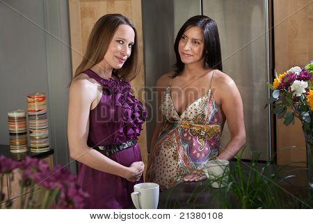 Beautiful Pregnant Women