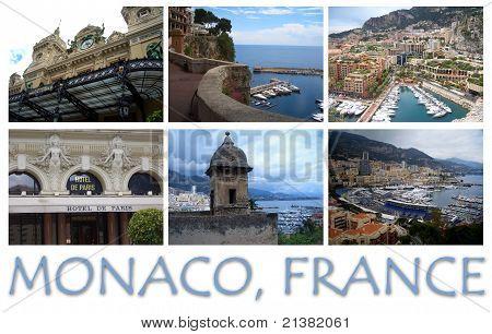Postcard of Monaco