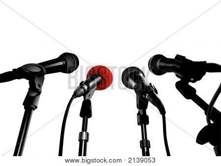 Pressekonferenz (Vector)