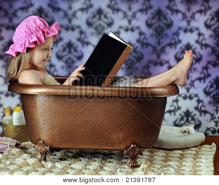 Reading Bathtub Diva