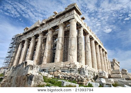 Renovation Of Parthenon