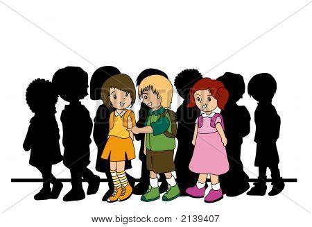Walking Preschoolers