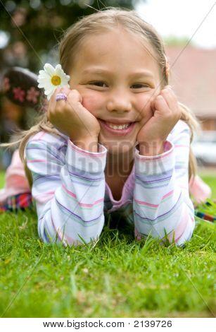 Beautiful Child Portrait - Girl
