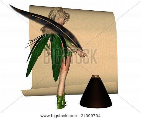 Fairy Scribe -