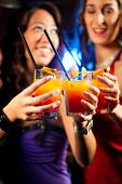 picture of hen party  - Group of party people  - JPG