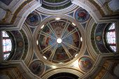 picture of carmelite  - Dome of the The Church Stella Maris - JPG