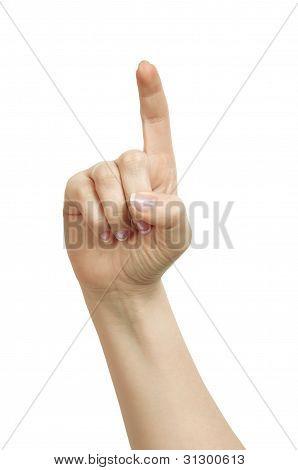 Hand Pushing