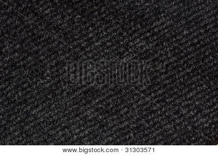 Gray Striped Woollen Fabric Texture (diagonal)
