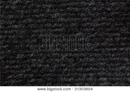 Gray Woollen Fabric Texture (horizontal)