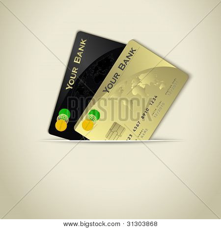 Credit Card Background Raster