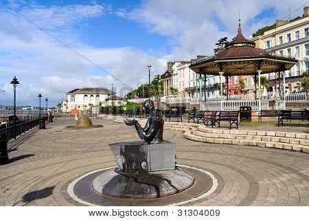 Cobh Town In Ireland