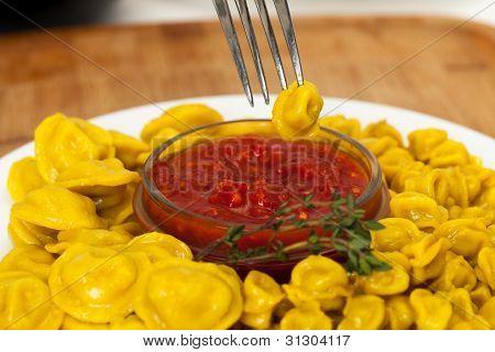Yellow Dumplings