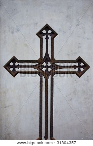 Old Rusty Vintage Cross