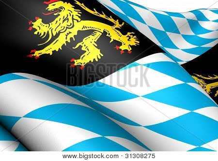 Bavaria-munich Flag, Germany.