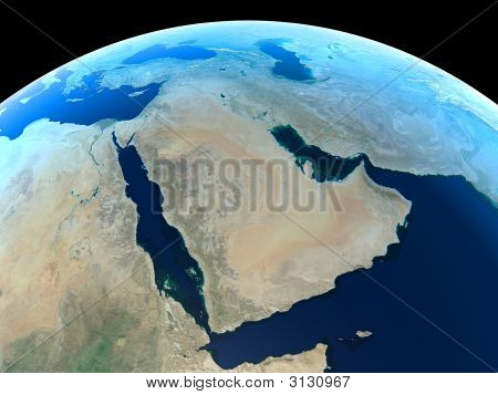 Planet Earth - Middle East