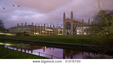 King 's College, Universität Cambridge, England