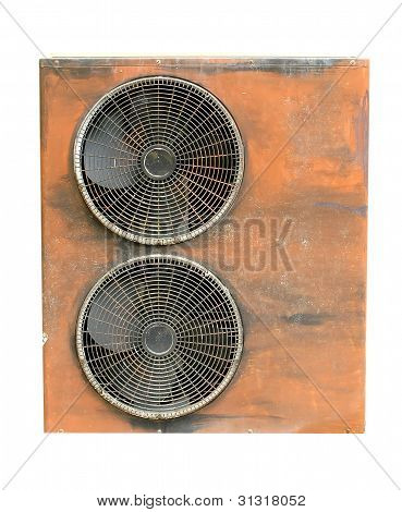 this is an old compressor air condition