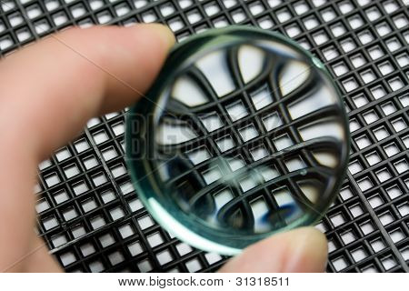 Magnifying Properties of Convex Lens