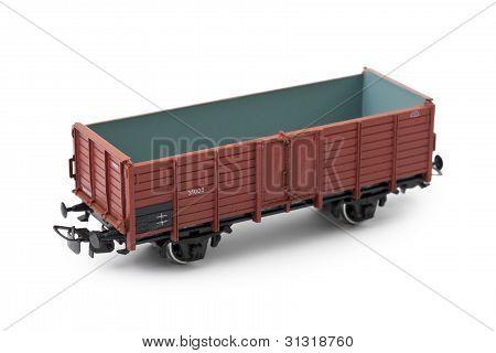 Empty Cargo Wagon