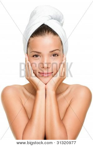 Spa Skin Care Beauty Woman