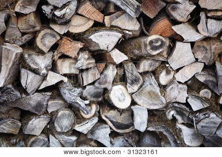 Stacked Woodpile