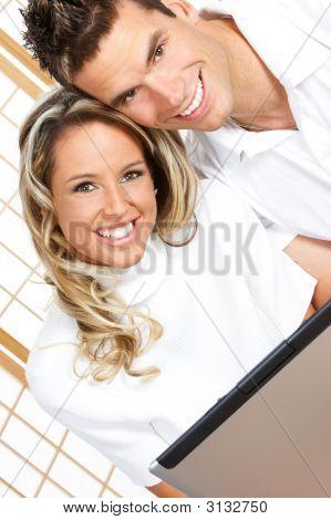 Verliebte Paar