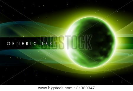 Abstract Planet Design