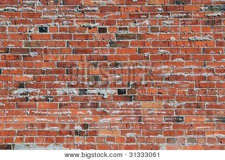 Oozing Mortar Brick Wall