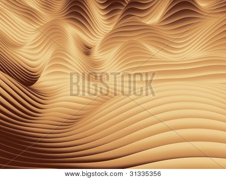 Hügelige Wave-Entwurfsmuster