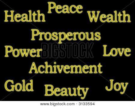 Golden Positive Words