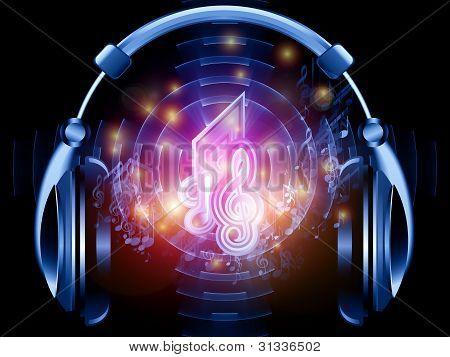 Musik im Kopfhörer