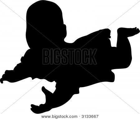 Vector Baby Lies