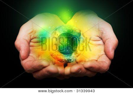 Universum in Händen