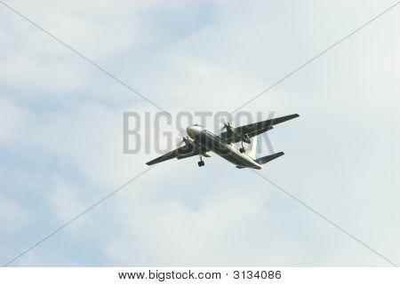 Takes Off Aero Plane